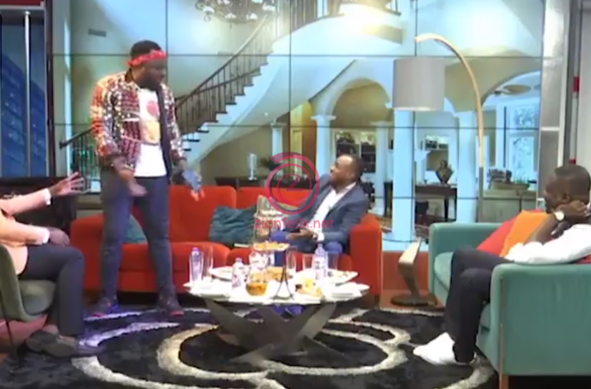Watch Video Of The Moment DKB Nearly Walked Out Of UTV's United Show Because Halifax Said He Has 'Big Head With Small Sense'