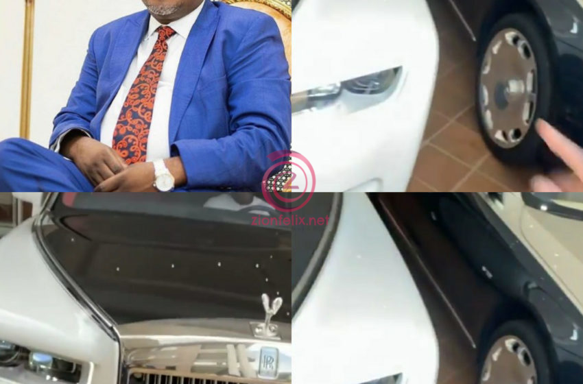 Plush Vehicles Owned By Dr Kwaku Oteng Captured In Latest Video (Watch)