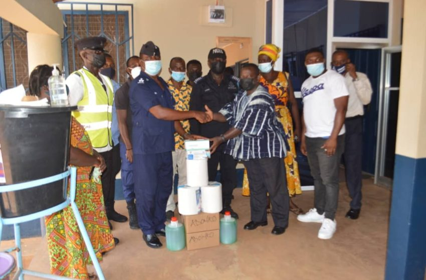 Five Institutions In Adansi Fomena Get Support From  Ekuona Family To Fight COVID-19 (PHOTOS)