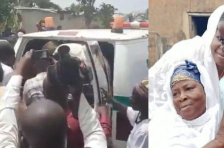 Sad Video Of The Moment The Body Of The 10-Year-Old Kasoa Boy, Ishmael Arrived At Their Family Home Today Before Burial Surfaces Online