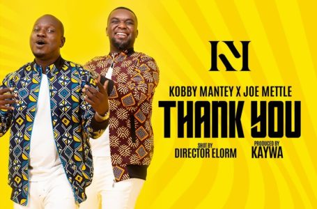 Kobby Mantey Releases 'Thank You' Visuals Featuring Joe Mettle