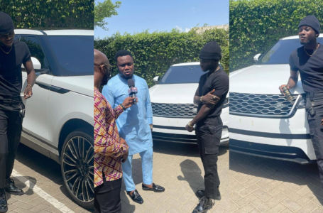 VIDEO: Kuami Eugene Never Charged To Be Adonko Next Level Brand Ambassador – CEO Of ABN Reveals Secret Behind The Range Rover Surprise