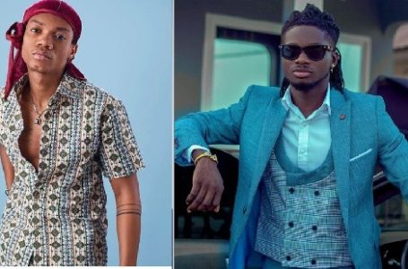 Kuami Eugene Subtly Shades Kidi As He Reacts To His Claims That 'He Does Not Know How To Talk' (Video)