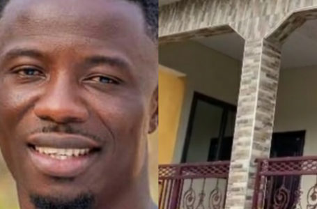 Kwaku Manu Builds A Nice House For His Parents (Video)