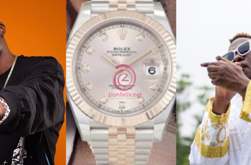 Okese 1 Mocks Medikal After He Was Busted For Wearing Fake Rolex By Top German Blog