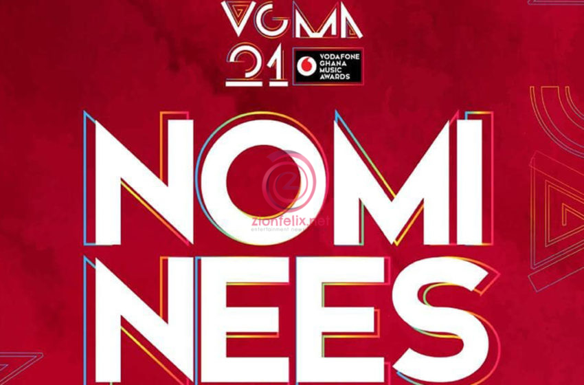 Full List Of Nominees For The Vodafone Ghana Music Awards 22 Finally Released – Check It Out