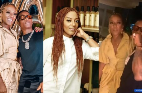Video Of Nigerian Superstar, Wizkid Hanging Out With President Nana Addo's Beautiful Daughter On Her Birthday Surfaces Online