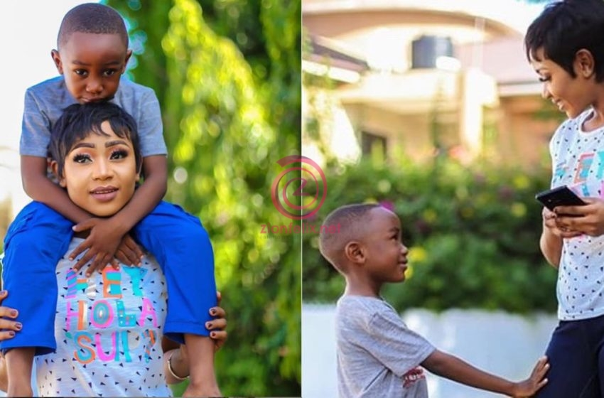 Akuapem Poloo's Son To Get Ghc2000 Remittance Each Month From Two Generous People Until Her Release – Full Details
