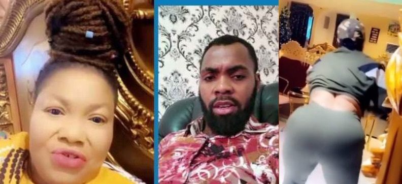 Nana Agradaa Seen tw3rking Wildly To Jubilate Amidst Her Current Beef With Rev Obofour (Video)