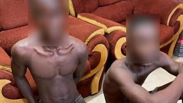 Fetish Priestess Who Requested The Two Kasoa 'Sakawa' Boys To Murder Someone And Bring Ghc5,000 Finally Arrested