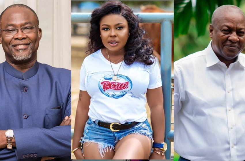I Got Tipsy And Blasted NDC's Spio Garbrah In The Face For Falsely Accusing Mahama Of Buying Me A House – Afia Schwar Narrates (Watch Video)