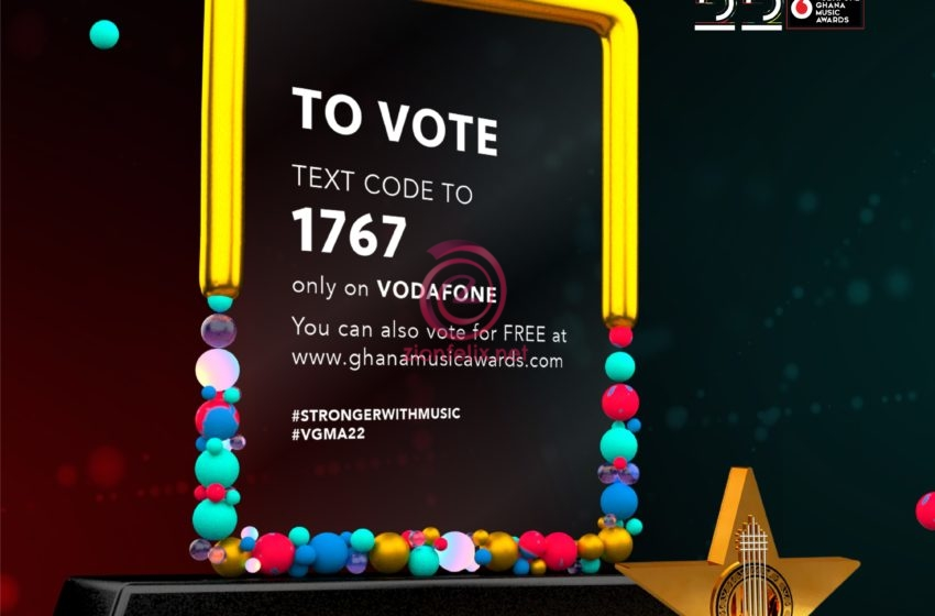Voting For Vodafone Ghana Music Awards 2021 Starts! – Check Out How You Can Vote For Your Favorite Artistes