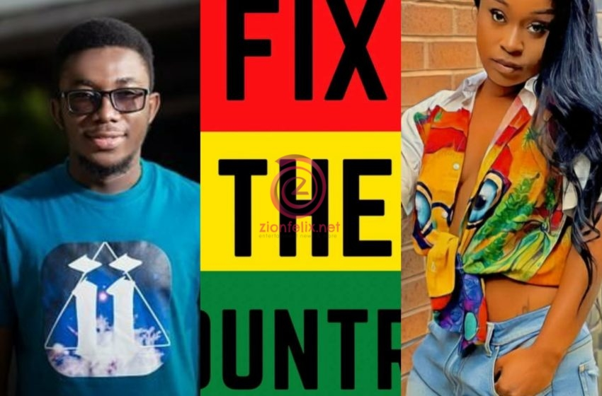 Kalyjay, Efia Odo And Others Inform Police About #FixTheCountry Demonstration In Accra