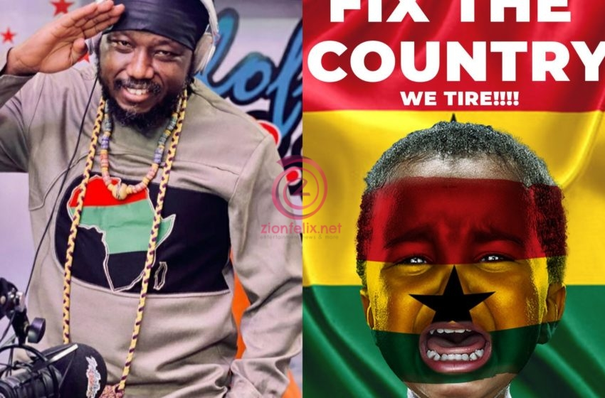 We Have Crooks And Hypocrites In Power! – Blakk Rasta Claims As He Plans #FixTheCountry Demo For 25th May (Video)
