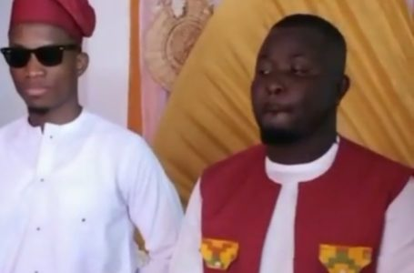 Kofi Kinaata Plays Best Man Role For Hitz FM's Dr Pounds At His Traditional Wedding (Video)