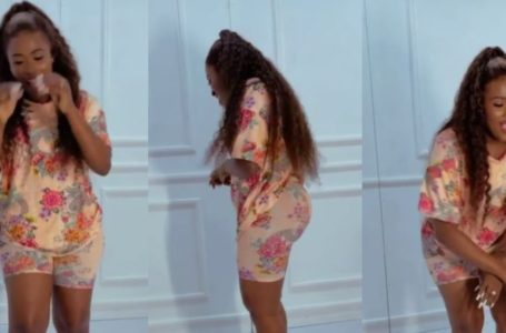 """Can Your Chairwoman Dance?"" – Fella Makafui Asks As She Shakes Her Things (Video)"