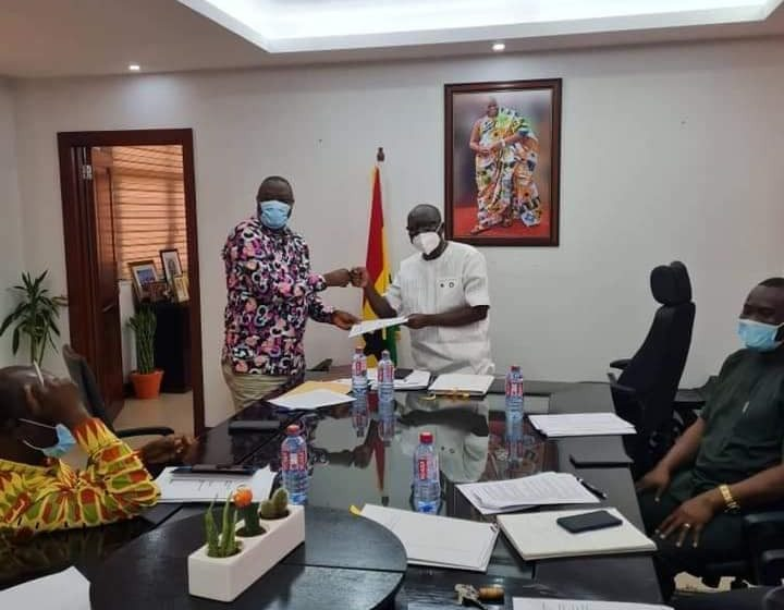 Ministry Of Finance And Ministry Of Tourism, Arts And Culture Sign Ghs100,000,000.00 GhanaCARES Obaatanpa Agreement