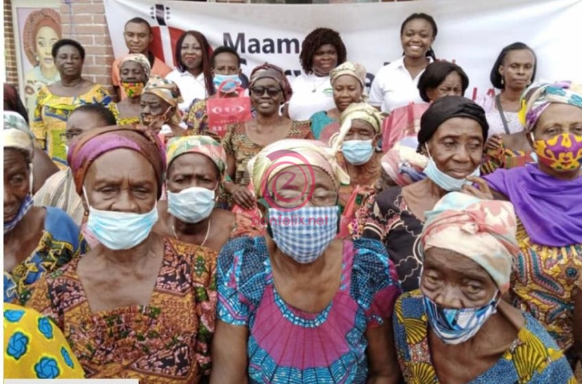 Maame Serwaah Ministries Donate To Mothers With Disable Children On Mother's Day