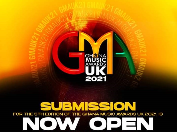 Submission Of Works For Ghana Music Awards UK 2021 Is Finally Open
