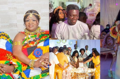 PHOTOS: Mcbrown, Agya Koo, Emelia Brobbey, Bill Asamoah, And Other Kumawood Stars Grace Mercy Asiedu's Star-studded 50th Birthday Party