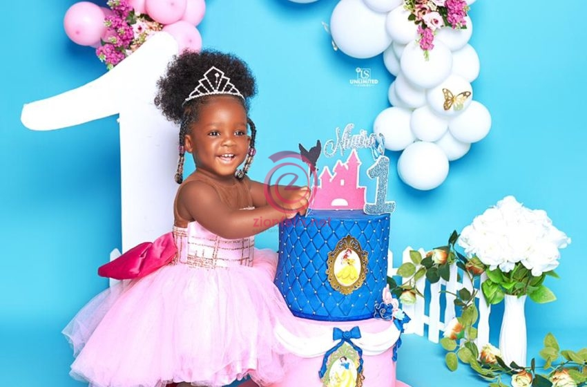 Nhyira At 1: See Beautiful Photos Of Tracey Boakye's Daughter Who Is A Year Older Today