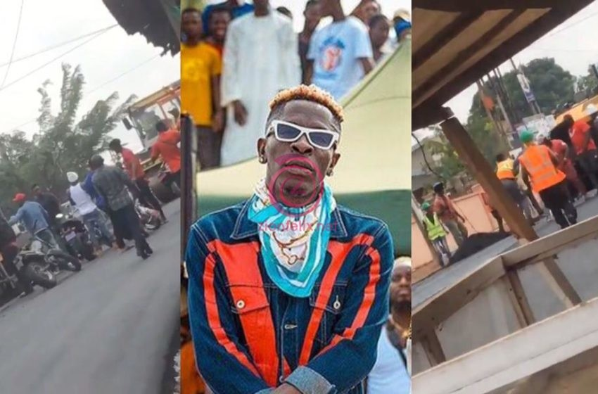 Shatta Wale Apologizes To Road Contractors Over Alleged Assault And Police Case (Watch Video)