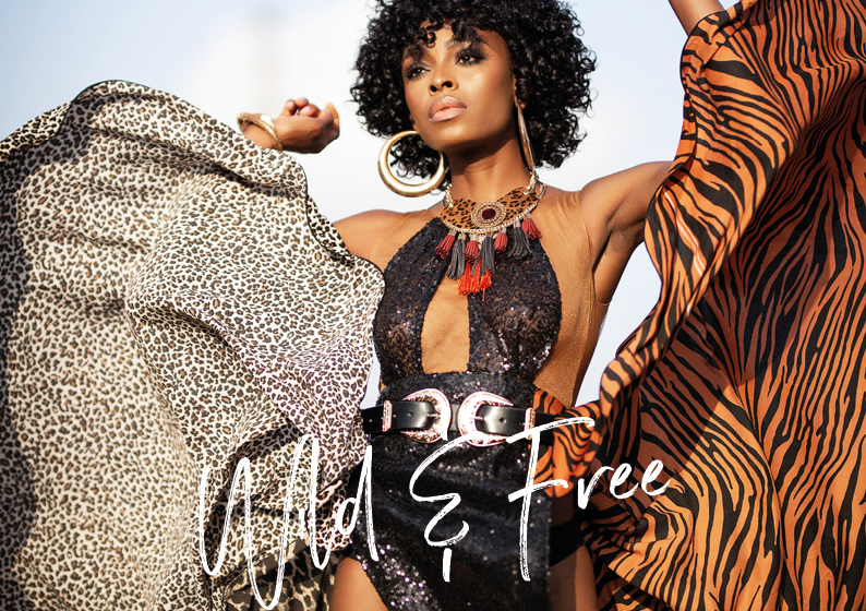 Wild And Free; Riding High Into The Future – Victoria Michaels Featured In Glam Africa Mag Editorial (Photos)