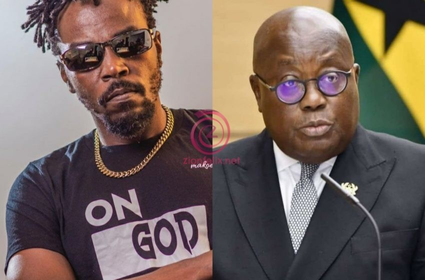 Kwaw Kese Reminds Akuffo-Addo Of Hardships As He Wishes Him Father's Day (Video)
