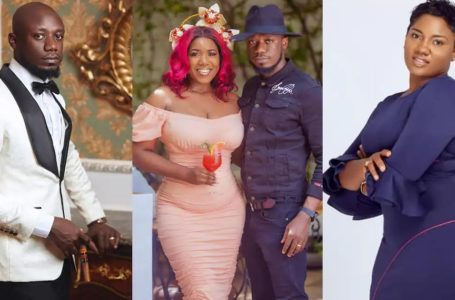 Abena Korkor Comes For The Head Of Nkonkonsa; Drops WhatsApp Messages Proof Of Him Begging To E@t Her Up And Stating That He Doesn't Love His Wife, Victoria Lebene To 'Shame' Him – Watch Video