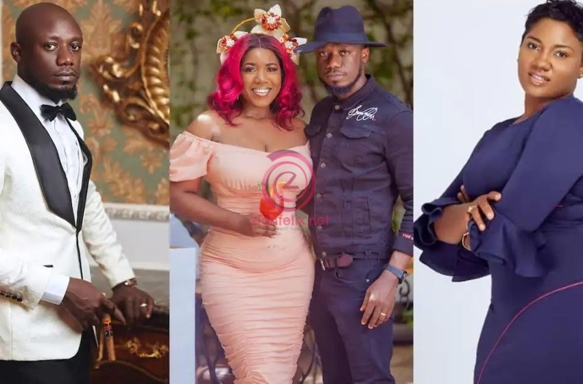 Nkonkonsa's Wife, Victoria Lebene Finally Drops Subtle Reaction Amidst Viral Reports About Her  Husband And Abena Korkor's Int~m@te Relationship