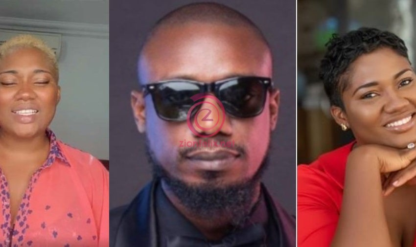 VIDEO: Abena Korkor 'Apologizes' To Eugene 'Nkonkonsa' Osafo For Mentioning His Name As One Of The Best L*ck.3rs In The World In Her Recent Video