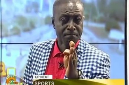 Captain Smart Shed Tears On Live TV Over The Bad Leadership In Ghana (Watch Video)