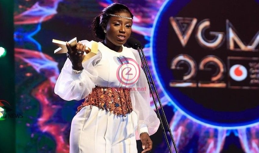 #VGMA22: Diana Antwi Hamilton Beats Tough Competition To Emerge Artiste Of The Year – See Full List Of Winners