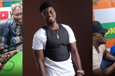 Musician Gambo Gifts Ayitey Powers Ghc1000 After He Heard A Painful Story He Shared On Live Radio – Watch Video