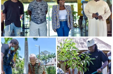 Green Ghana: Stonebwoy, Dentaa And Others Join Royal Senchi To Plant Trees