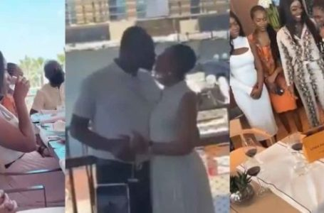 Check Out All The Beautiful And Exclusive Videos As Kennedy Agyapong Celebrates His 61st Birthday In Dubai With His 16 Daughters