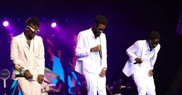 #VGMA22: Check Out The Mind-blowing Performance Of Kumerica Rappers Yaw Tog, Kofi Jamar, And Ypee – Video