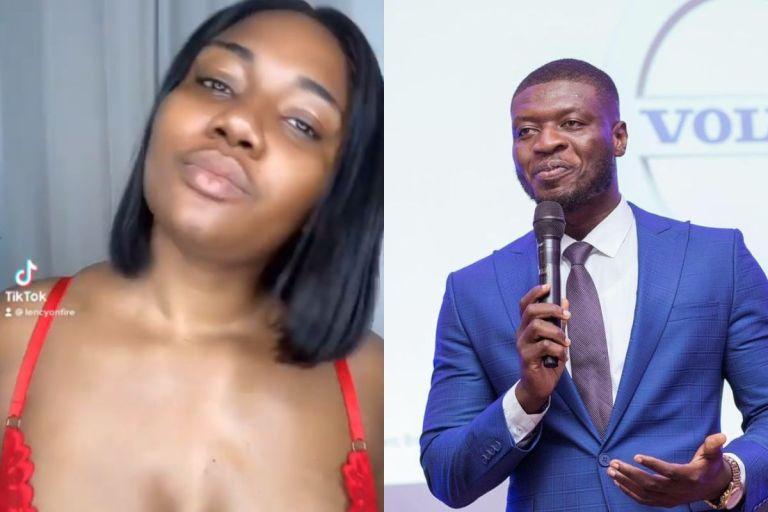 Abena Korkor Returns; Adds Recently Married Lexis Bill And Others To The List Of Celebs Who Have 'Chopped' Her Falaa – Hot Video