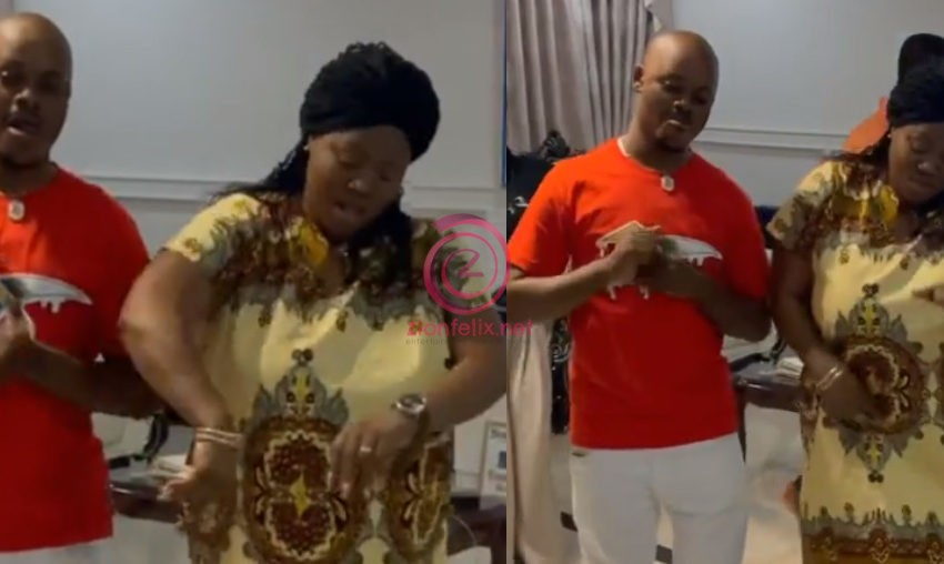 Mercy Asiedu Shows Off Wicked Dance Moves As She Boogies At Her Plush Hall With Her Children – Video