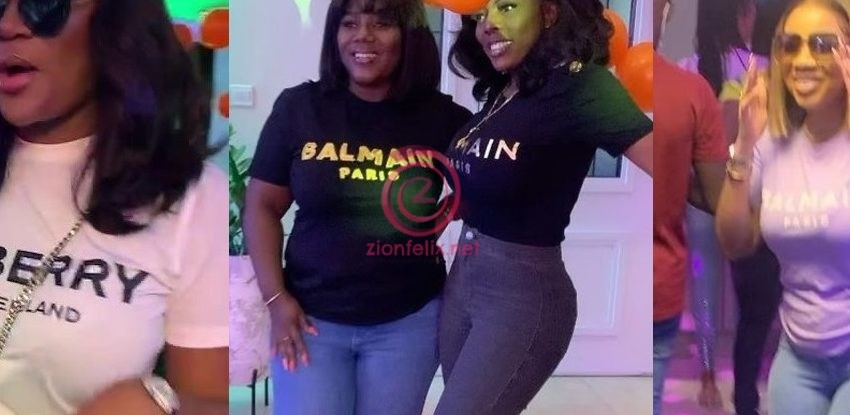 Nana Aba Anamoah Organizers Special And Star-Studded Champagne Party To Mark Her Birthday – See All The Exclusive Videos