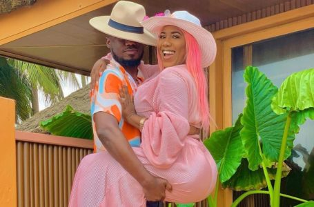 Check Out How Eugene 'Nkonkonsa' Nkansah And His Beautiful Wife, Victoria Lebene Arrived At VGMA22 After The Recent Brouhaha – Video