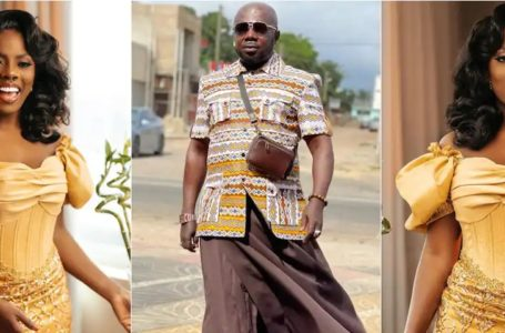 Nana Aba Anamoah's Baby Daddy, Osebo The Zaraman Shares Sweet Message To Celebrate Her On Her Birthday