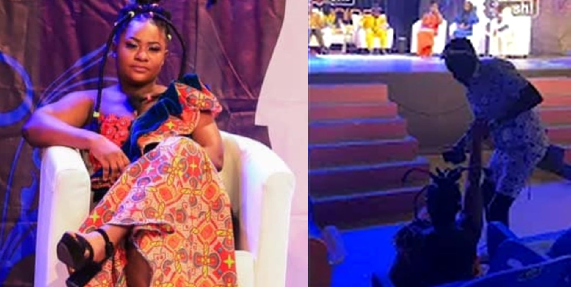 Video Of The Moment Ruth Of Date Rush Fame Fell Down On Stage During The Date Rush Reunion Surfaces Online