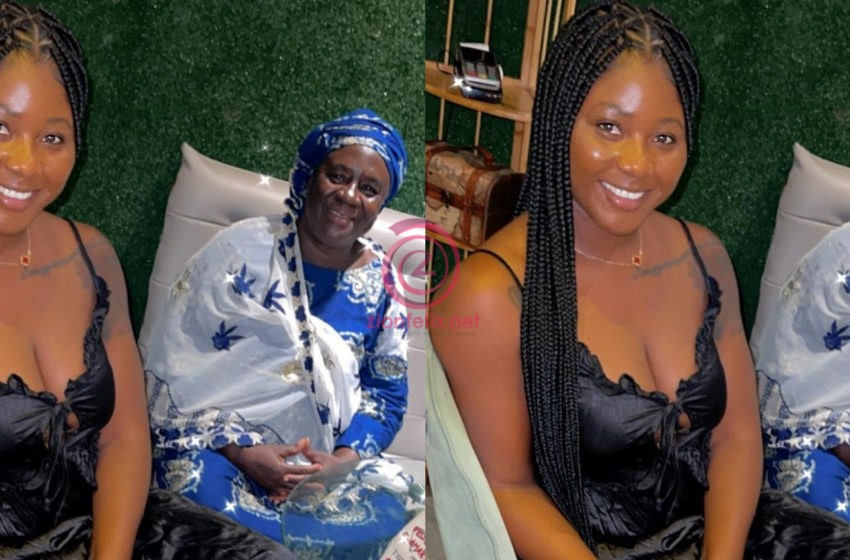 Salma Mumin Sorrowfully Narrates How She Struggled Growing Up Due To Her Parents Divorce (Video)