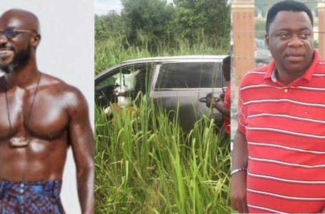 Kwabena Kwabena Narrates How The Accident He Was Involved In Occured On The Highway (Video)