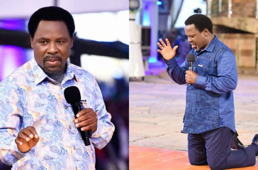 Popular Nigerian Man Of God T.B Joshua Has Reportedly Died At 57 Years