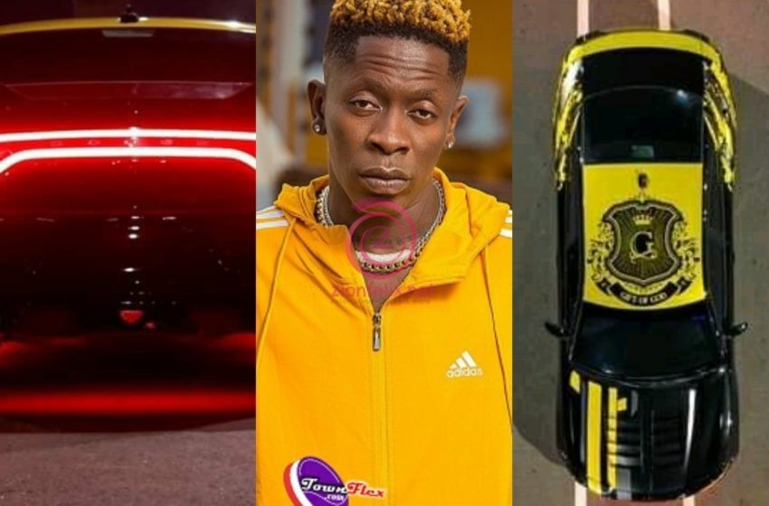 I Am The First Dancehall Artiste To Customize His Car In Africa – Shatta Wale Brags