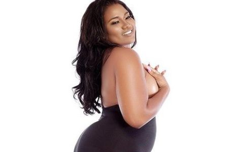 PHOTOS: Abena Korkor Goes Completely Br@l3ss As She Drops Message For Plus Size Women