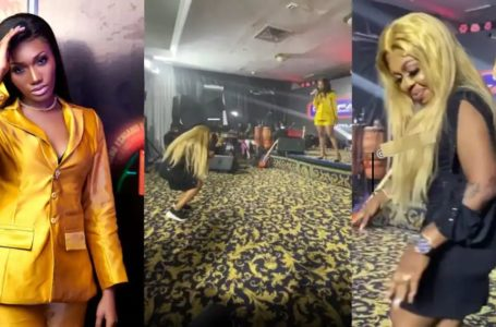 VIDEO: Afia Schwar Admits She Was Drunk As She Finally Reacts And Tears Wendy Shay Into Shreds For Doing Her Yawa In Public