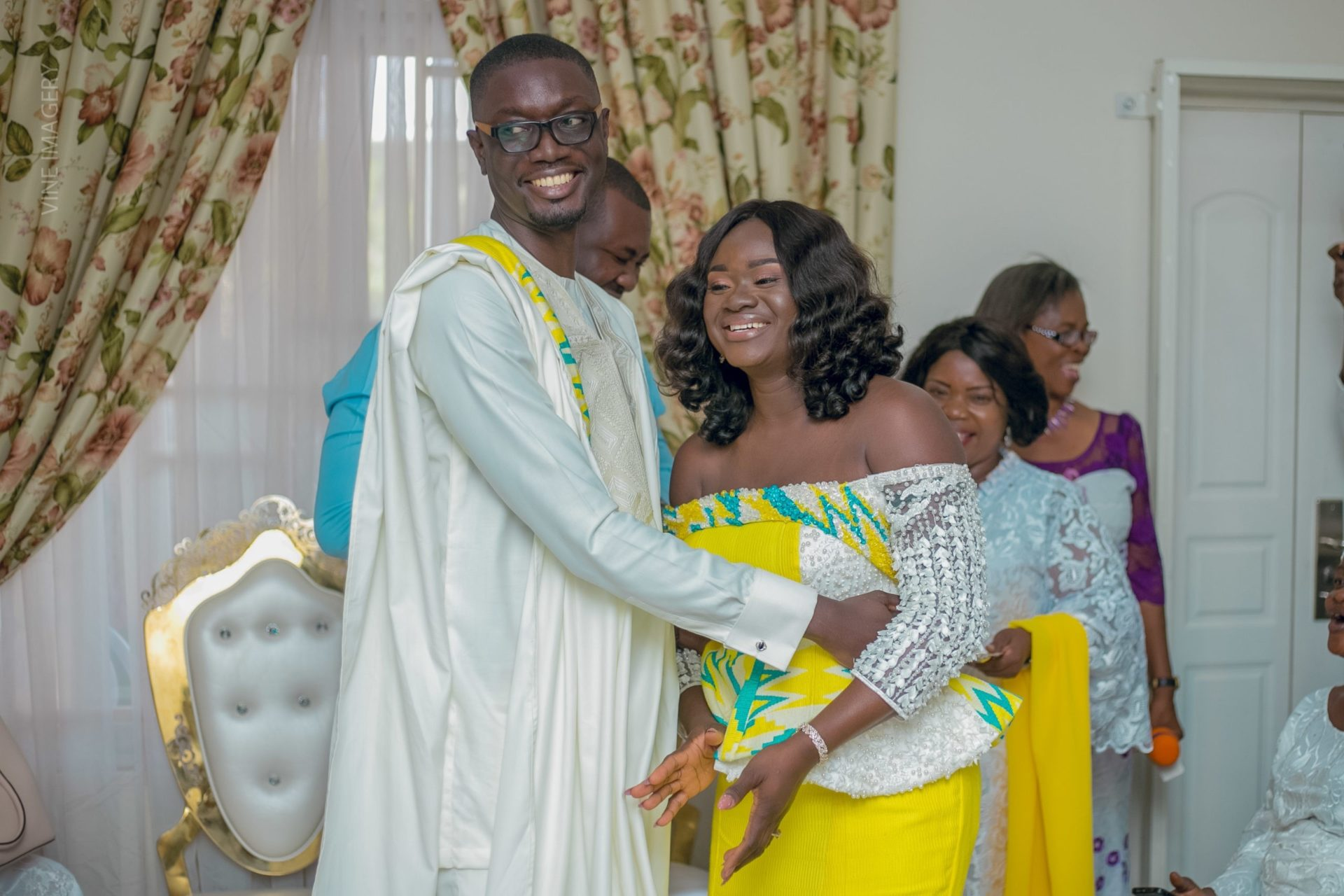 Love From America: Ameyaw Debrah's Wife Sends A Lovely Birthday Message To Him (Watch Video)